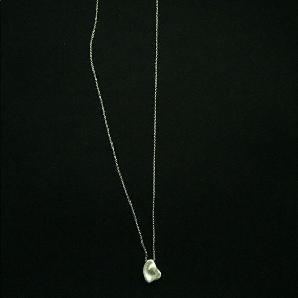 6ae0fca43 Tiffany & Co. Jewelry | Tiffany Co Elsa Peretti Full Heart Pendant ...